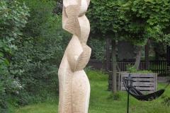 7. Mirandolina, 2017. Sculpture Symposium. Kuk Gohlis, Leipzig, 2018