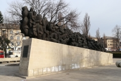 22. In memory of the repression of the communist regime, 2013. 12x2x3 m , bronze, Cisinau, Republic of Moldova