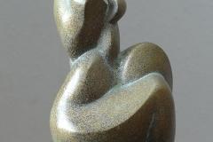 12. 2012. Size: 30 x 15 x 12 cm, bronze , granit