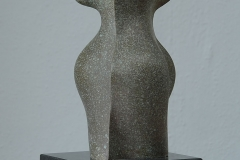 14. 2008. Size: 40 x 17 x17 cm, bronze , granit