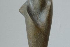 15. 2003. Size: 45 x 17 x 13 cm, bronze , granit
