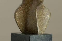 19. 2015. Size: 16 x 11 x 9 cm, Bronze, Granit