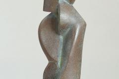 16. 2014. Size: 30 x12 x9 cm, bronze , granit