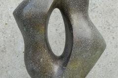 17. Unendlichkeit,  2015. Size: 90x55x20 cm, Bronze, Granit